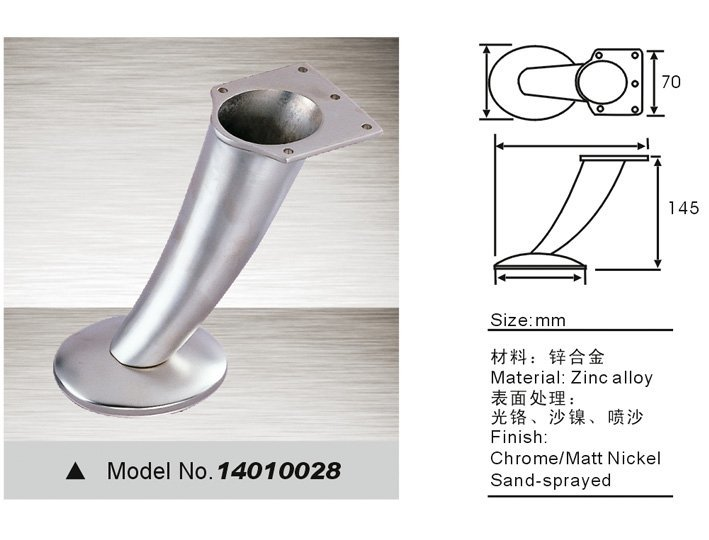 sofa feet replacement, sofa leg 14010028