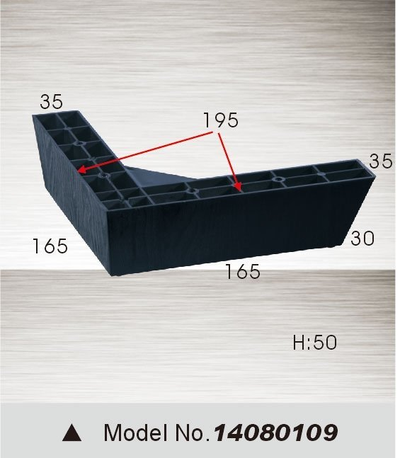 plastic sofa leg 14080109