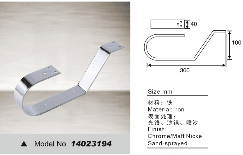 Metal furniture leg for sofa hardware