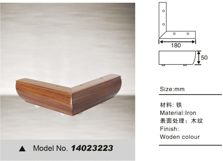 L shape leg for sofa