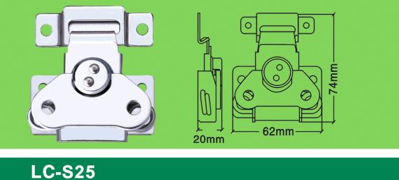 LC-S25 new medium-sized flat toggle latch,Flight case road case hardware