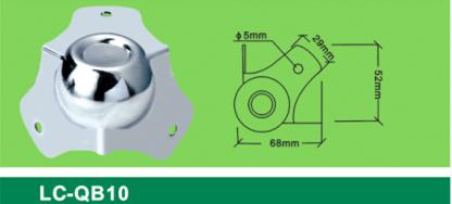 LC-QB10 medium-size spill ball corner,box sofa corner Flight case hardware